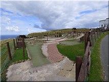 SH7683 : Crazy Golf Course by Gerald England