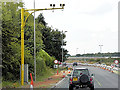 SK6875 : Northbound A1, Traffic Cameras in the Roadworks (Elkesley Accident Reduction Scheme) by David Dixon