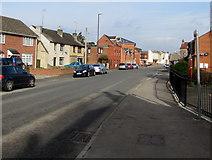 SO8005 : Bath Road towards High Street, Stonehouse by Jaggery