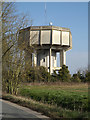 TM1557 : Gosbeck Water Tower by Geographer