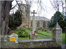 NY9650 : St Mary's Church and War Memorial, Blanchland by JThomas