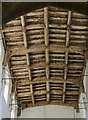 SK9246 : All Saints' nave roof, Hough-On-The-Hill by Julian P Guffogg