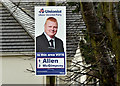J3775 : Assembly election poster, Sydenham, Belfast - April 2016(2) by Albert Bridge