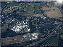 NS3141 : Irvine from the air by Thomas Nugent