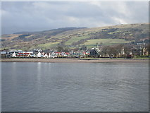 NS2059 : View of Largs from the Great Cumbrae ferry by Jonathan Thacker
