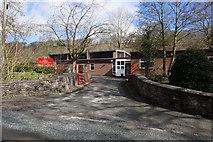 SO5793 : Brockton Primary School by Ian S