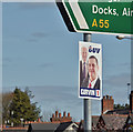 J3873 : Assembly election poster, Knock, Belfast - April 2016(1) by Albert Bridge