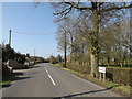 TM1854 : B1077 The Green, Ashbocking by Adrian Cable