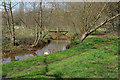 SU8555 : Cove Brook, Farnborough by Alan Hunt