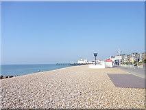 SZ9398 : Bognor Regis Sea Front and Pier, West Sussex by Jeff Gogarty