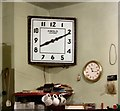 SJ9494 : Projection room clock by Gerald England
