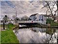 SD4312 : Leeds and Liverpool Canal, Crabtree Bridge by David Dixon