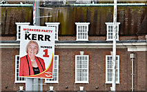 J3371 : Assembly election poster, Stranmillis, Belfast - April 2016(2) by Albert Bridge