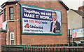 J3572 : Assembly election poster, Cregagh Road, Belfast (April 2016) by Albert Bridge
