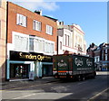 SH8479 : Saunders Opticians, Colwyn Bay by Jaggery