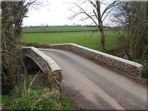 SS8404 : Heath Bridge over Holly Water by David Smith