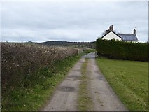 SS8302 : Track passing Furlongs cottage by David Smith