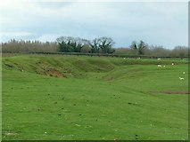 SP9499 : Wakerley ironstone quarries by Alan Murray-Rust