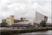 SJ8097 : Trafford Wharf, Imperial War Museum North and RHM factory by David Dixon