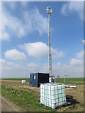 TA0114 : Communications mast near Worlaby by Paul Harrop