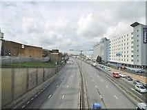 TQ1983 : Park Royal, North Circular Road by Mike Faherty
