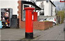 J3371 : Pillar box (BT7 414), Stranmillis, Belfast (April 2016) by Albert Bridge