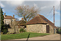TR2741 : Well house, St Radigund's Abbey Farm by Ian Capper