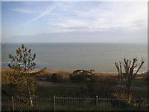TR2135 : The sea front at Folkestone by David Howard