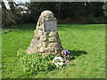 SK3628 : Jacobite Cairn at Swarkestone by M J Richardson