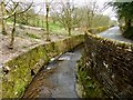SD6811 : Dean Brook and Barrow Bridge Road by Philip Platt