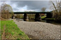 SD5193 : Railway Bridge over the River Kent by Chris Heaton
