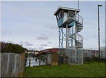 TQ0202 : Footbridge, Littlehampton by Jeff Gogarty