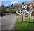 SO5916 : Warning sign - sheep for 7 miles, Lower Lydbrook by Jaggery