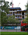 TQ3276 : Redevelopment by Camberwell Road,Camberwell by Robin Stott