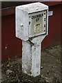 TM0758 : Chamber sign off Creeting Lane by Adrian Cable