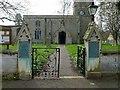 TF0006 : Gateway to the churchyard, All Saints, Tinwell (2) by Alan Murray-Rust