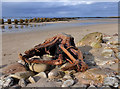 NJ2270 : Lossiemouth West Beach by Walter Baxter