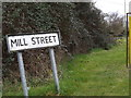 TM0659 : Mill Street sign by Adrian Cable