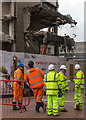 SP0686 : Demolition of the old Central Library, Birmingham by David P Howard
