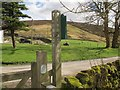 SD6554 : Signpost at Whitendale by Stephen Craven