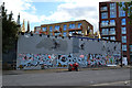 TQ3277 : Side of Steptoes and Sons, New Church Road, Camberwell by Robin Stott