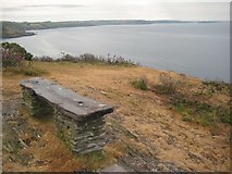SX5645 : A bench on Stoke Down by Philip Halling