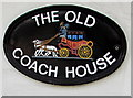 SO9222 : The Old Coach House name sign, Cheltenham by Jaggery
