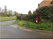 TM1453 : 1 Rectory Cottage Postbox by Adrian Cable