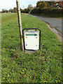 TM1453 : Saint Gregory's Church sign on Rectory Road by Adrian Cable