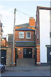 SK8508 : Entrance to building on Church Street by Roger Templeman