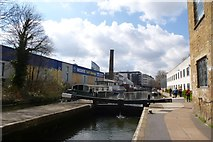 TQ3283 : Lock on Regent's Canal by DS Pugh