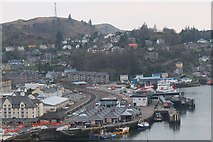 NM8529 : Southwest from McCaig's Tower, Oban by Jim Barton
