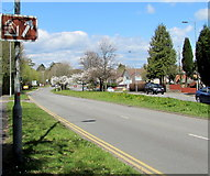 ST3091 : Big Pit direction sign, Malpas Road, Newport by Jaggery