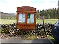 NY3403 : Skelwith Parish Council Information board by Norman Caesar